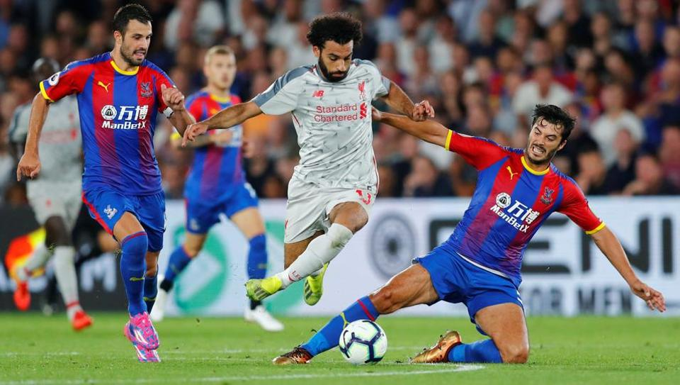 Mohamed Salah,Liverpool,Crystal Palace
