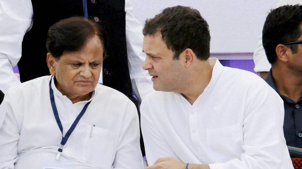 Congress revamp,Ahmed Patel is treasurer,Rahul Gandhi