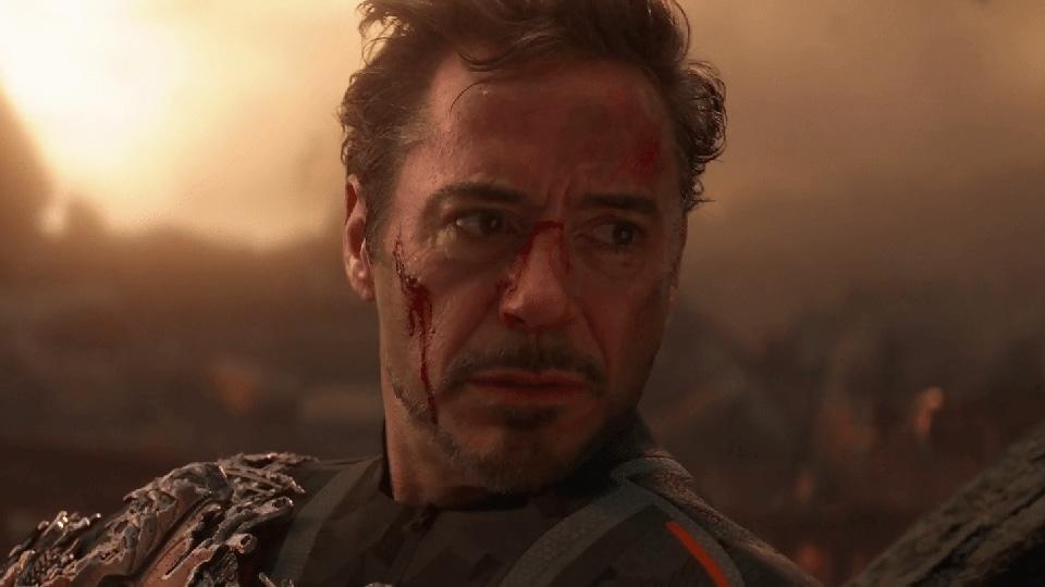 Robert Downey Jr as Tony Stark/Iron Man in a still from Avengers: Infinity War.