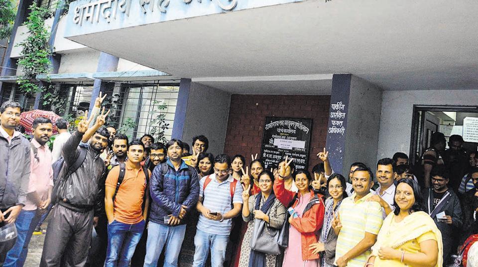 Pune,Sinhagad institute,terminated staff