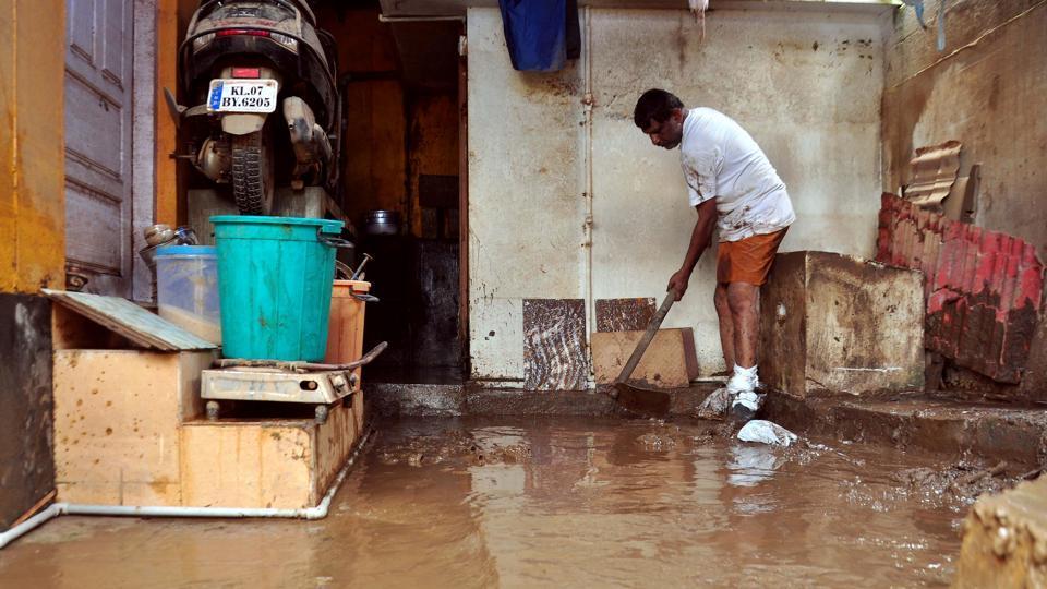 Kerala houses,Kerala,Kerala flood