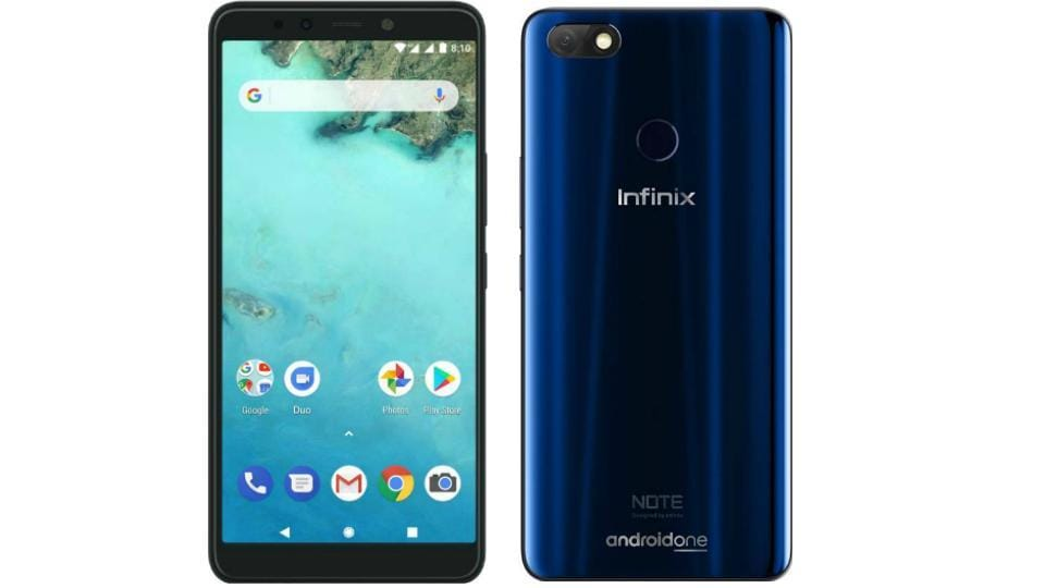 Infinix Note 5 features a 5.99-inch Full HD+ display with 18:9 aspect ratio.