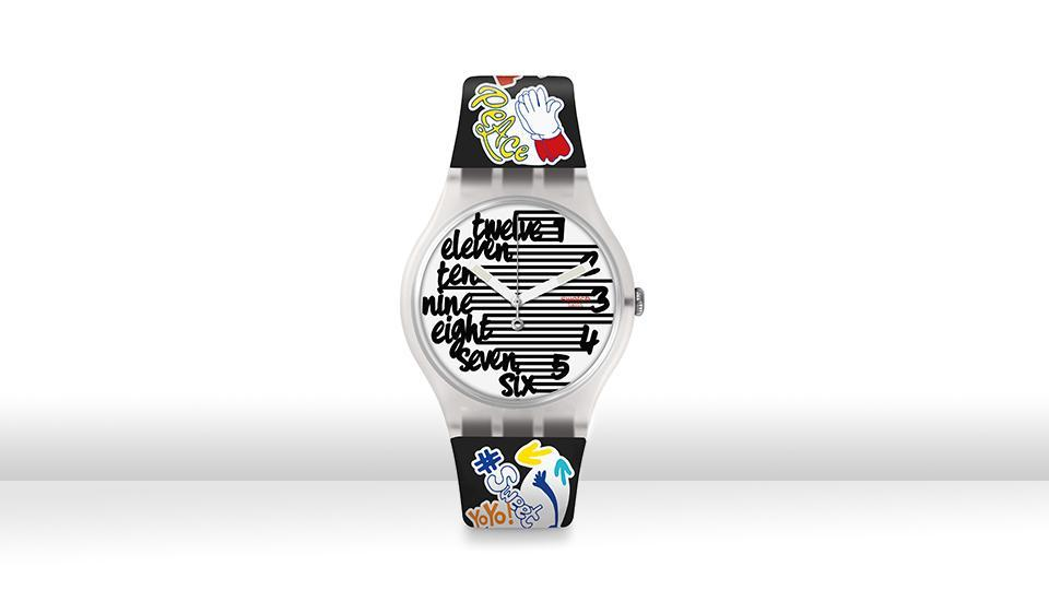 A journey to childhood: Watches that take you a trip down memory lane—yes, it's all about travelling back in time with this funky collection! (Launching in September) (SWATCH)