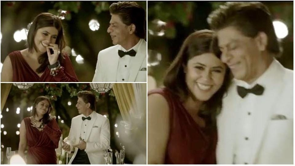 Ekta Kapoor and Shah Rukh Khan talk about love when they are not giggling together in a new video.