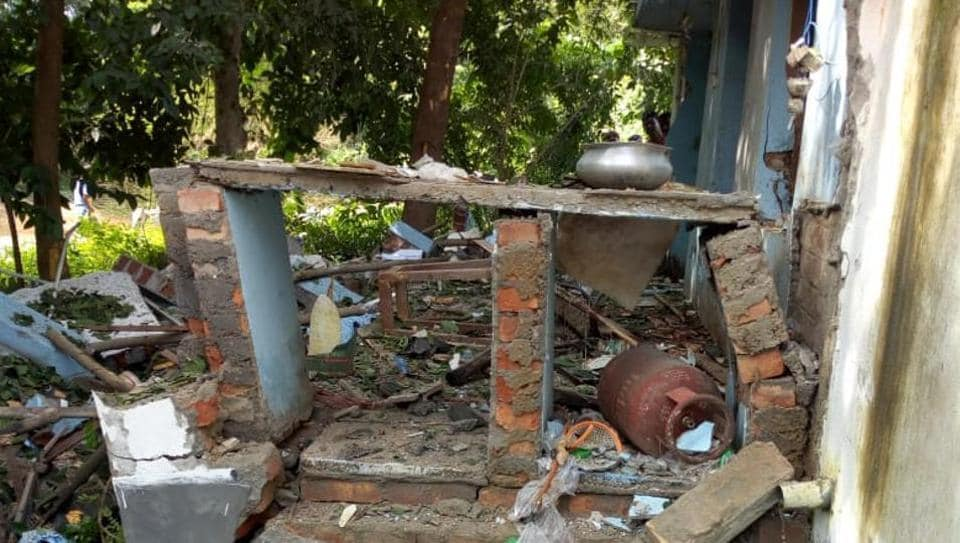Blast in Trinamool office,West Bengal blast,West Midnapore