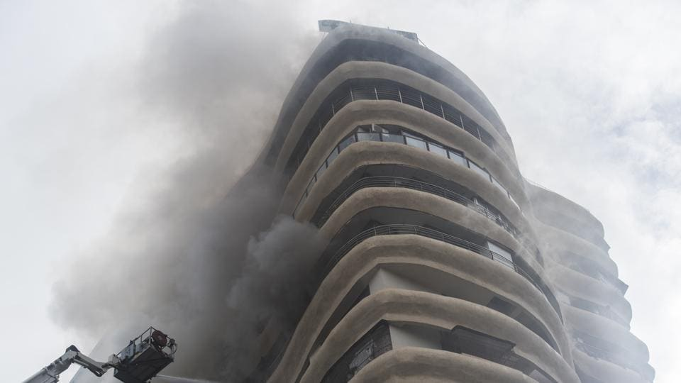 Parel building fire,Mumbai fire,mumbai building fire