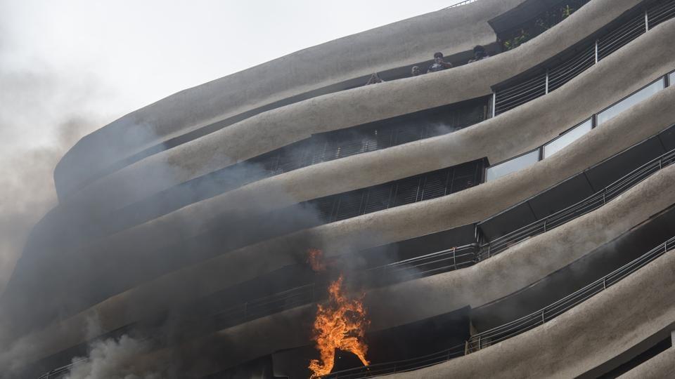 Mumbai fire,Parel building fire,Crystal Towers