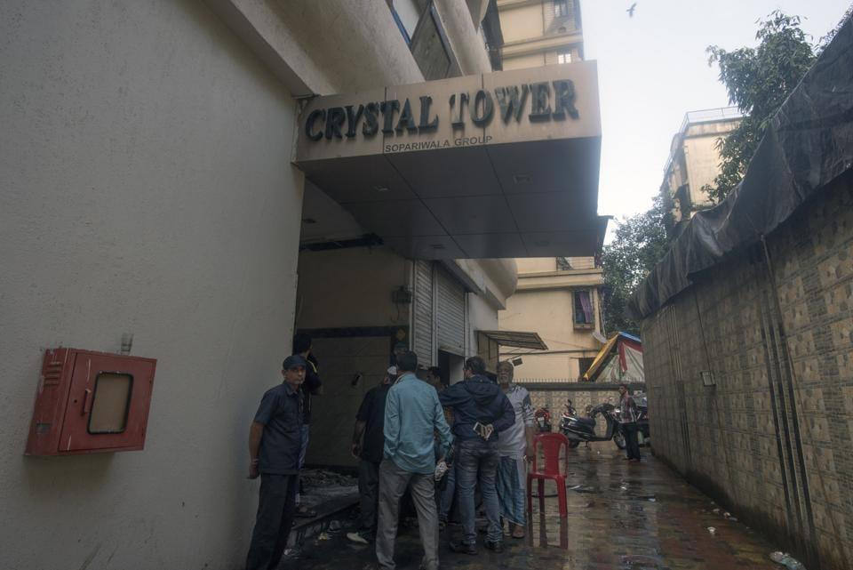 Mumbai fire,mumbai building fire,Mumbai building resident