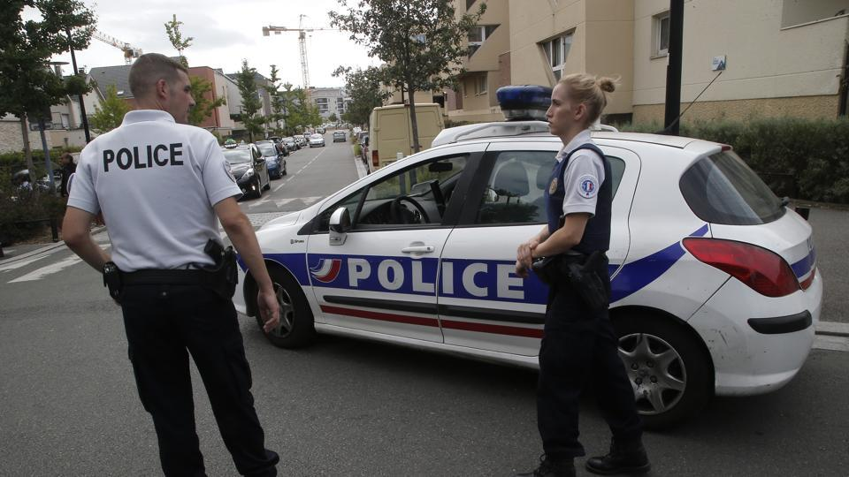 Paris knife attack,Knife attack in Trappe suburb,France