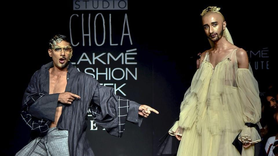 Lakme Fashion Week 2018 Day 1 Saw Prateik Babbar In Drag And More Edgy Outfits Fashion And Trends Hindustan Times