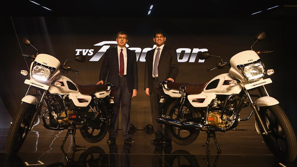 Tvs Launches 110cc Bike Radeon Priced At Rs 48400 Business News