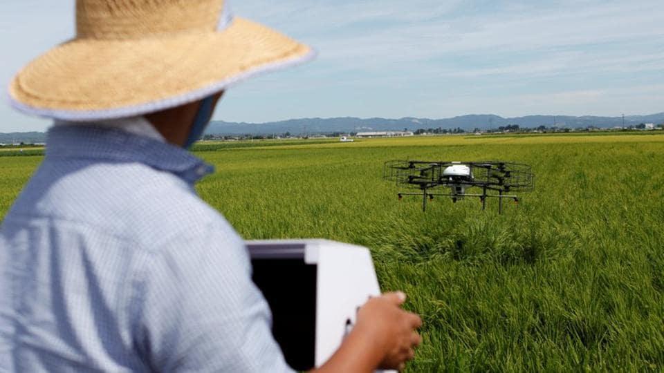 Drones,Japan,Japan farming