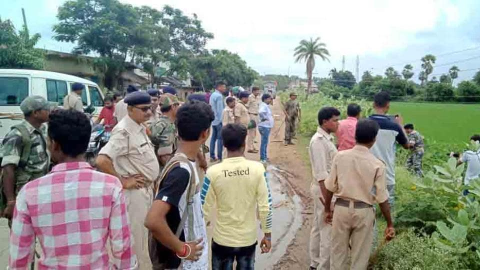 Police was deployed at Dangapara village in Jharkhand's Pakur district after a clash between cops and villagers following a  raid after information of cow slaughter on Wednesday.