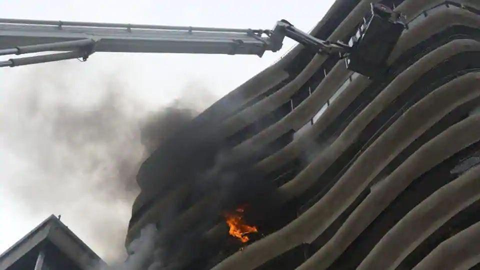 Mumbai,Parel,fire