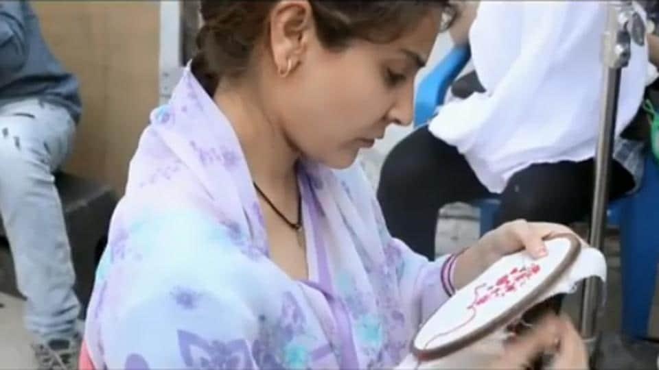Anushka Sharma,Anushka Sharma Sui Dhaaga,Sui Dhaaga movie