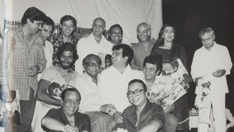 Shabana Azmi shared a picture from the music launch of 1984 film,Duniya.