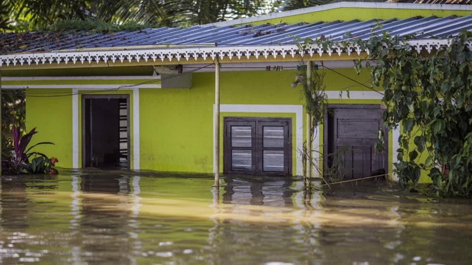 Kerala floods,Kerala,Tamil Nadu