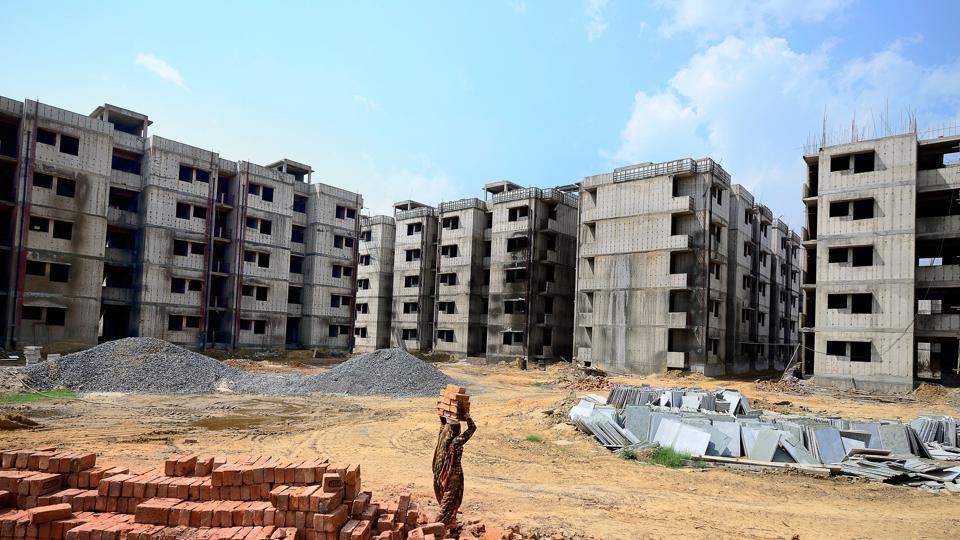 Housing scheme,Houses,Construction