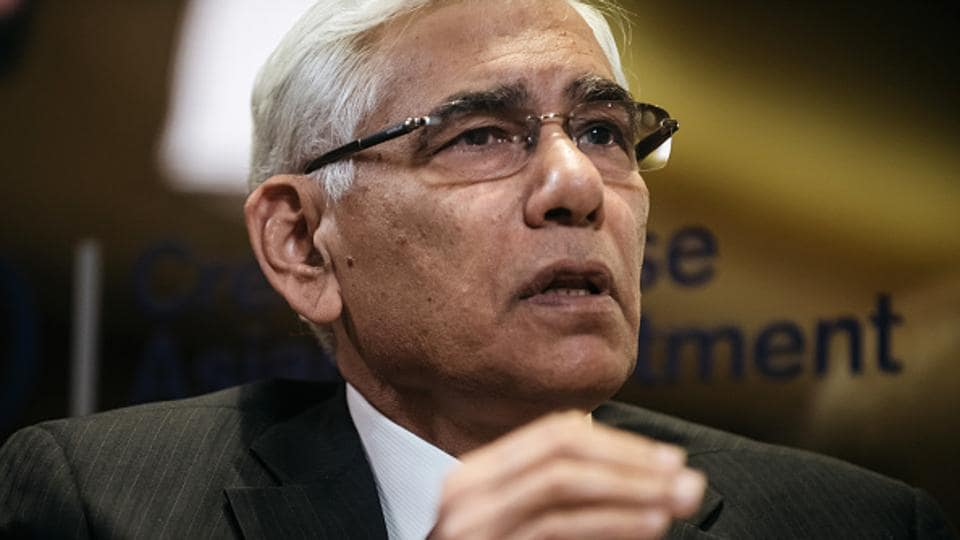 File photo of BCCI Committee of Administrators chief Vinod Rai.