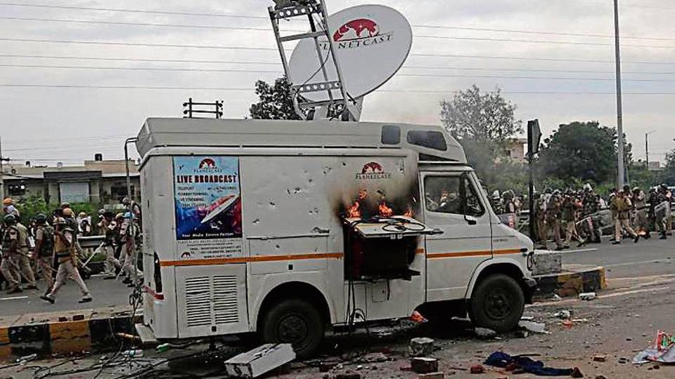 Panchkula,panchkula violence,Haryana Police