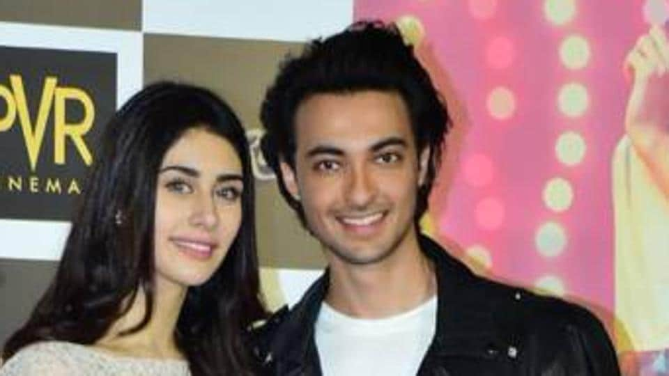 Loveratri Actors Aayush And Warina Seek Divine Blessings For Their