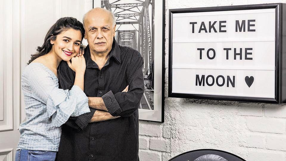 Mahesh Bhatt says he is proud of Alia Bhatt's choice in movies and how she has done it all on her own.