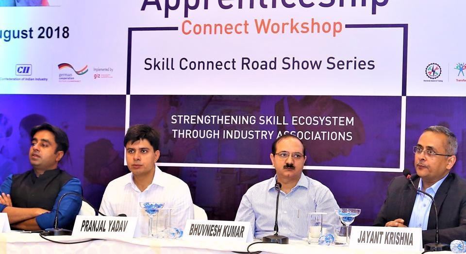 Skill connect road show,Apprentices,Services sector