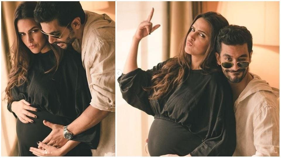 Neha Dhupia and Angad Bedi are set to welcome a new member into their family.