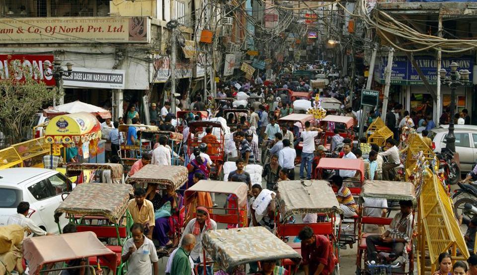 Chandni Chowk Road,pedestrian-only