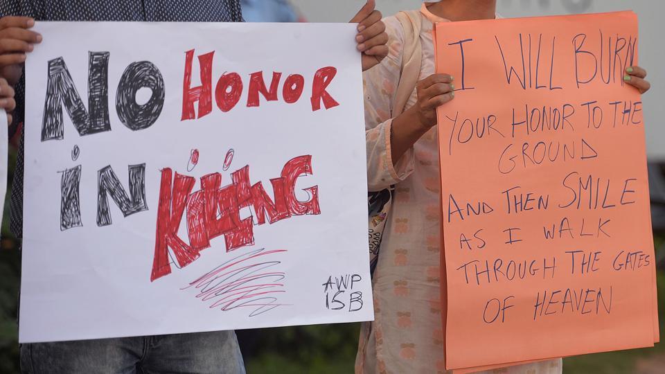Honour killing in Pakistan,Pakistan,Honour killing