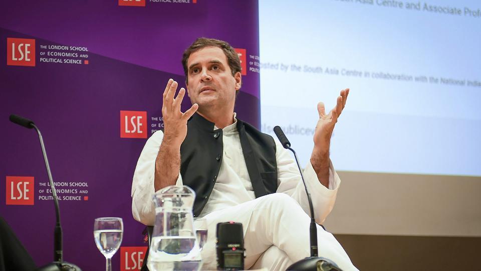 Rahul Gandhi,Narendra Modi,Rahul Gandhi in London