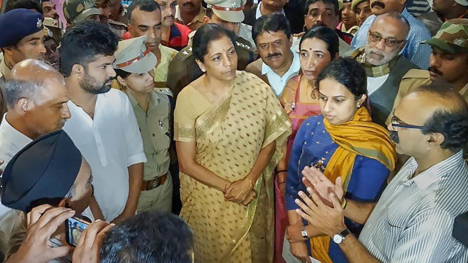 Nirmala Sitharaman,G Parameshwara,Karnataka minister