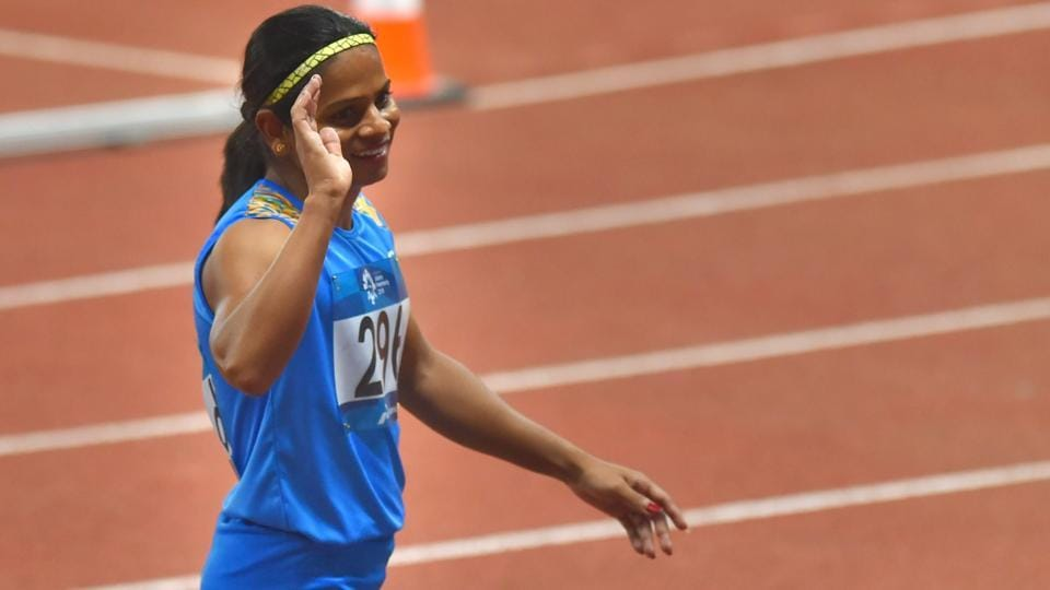 Asian Games 2018,Dutee Chand,Hima Das
