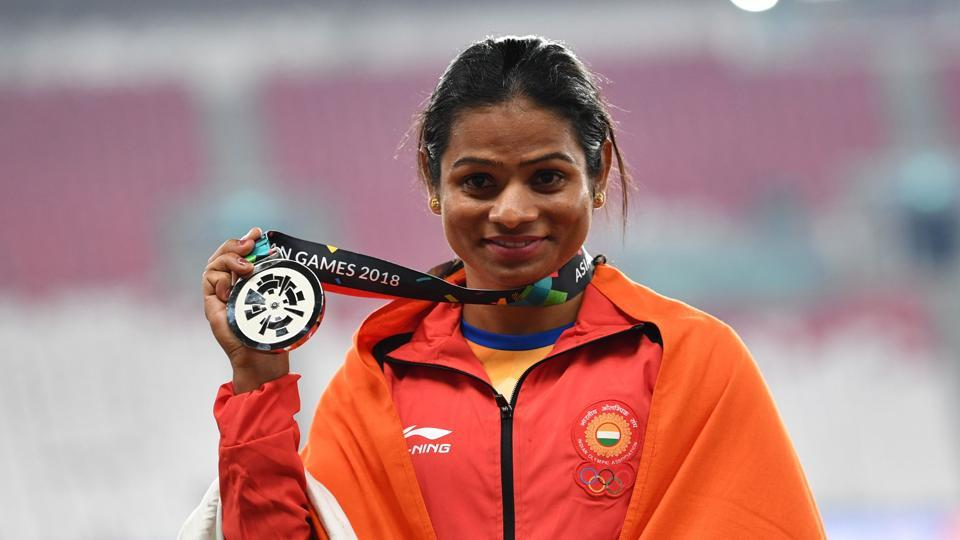 Asian Games 2018,Asian Games,Dutee Chand