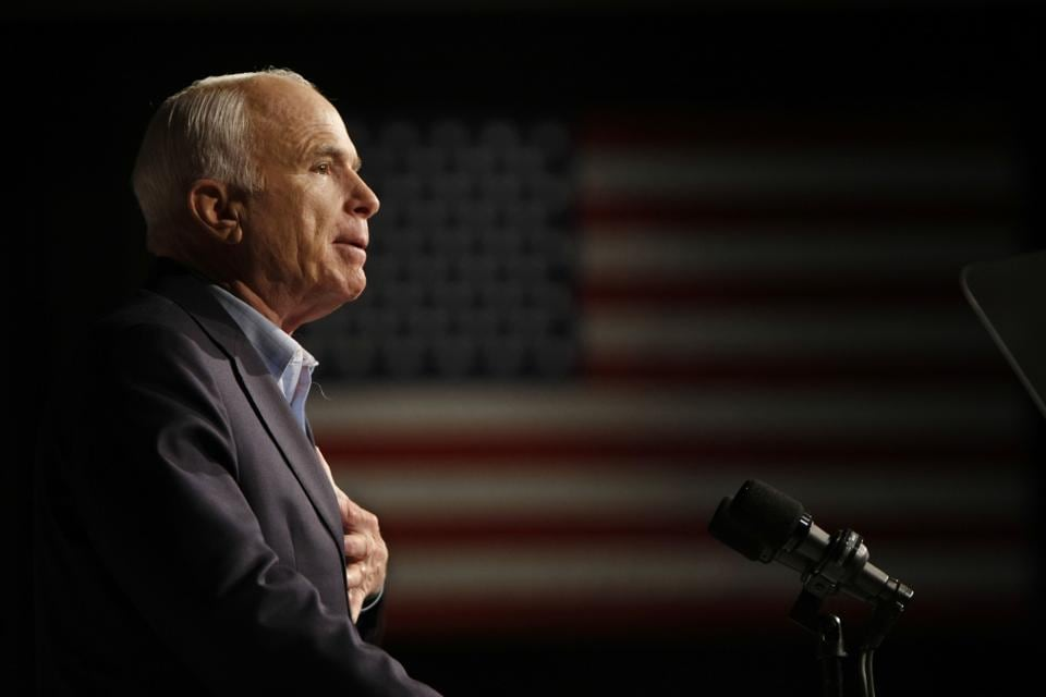 John McCain,Presidential candidate,US