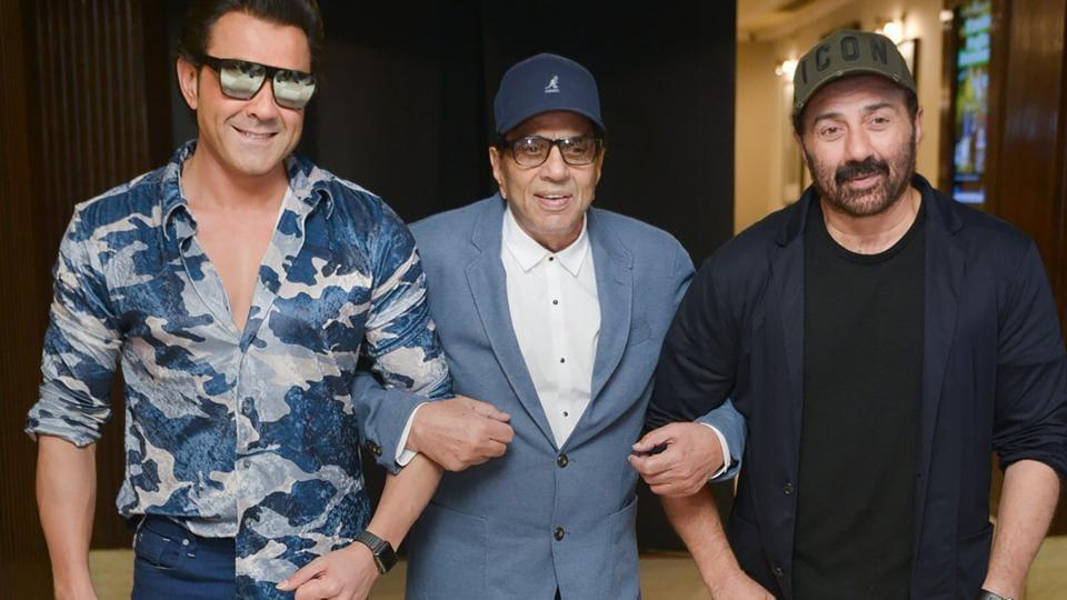 Bobby Deol,Sunny Deol,Dharmendra