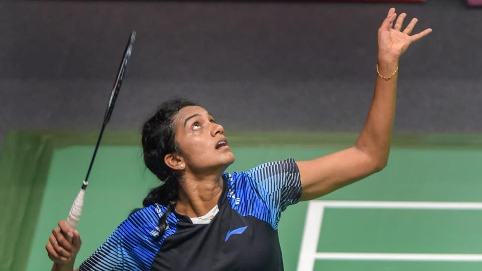 PV Sindhu created history by becoming the first Indian shuttler to reach the women's singles final at the Asian Games. Saina Nehwal clinched bronze and became the first Indian woman shuttler to claim a singles medal at the Asian Games and the first singles medals in badminton after the 1982 Asiad when Syed Modi won the bronze. (Vijay Verma / PTI)