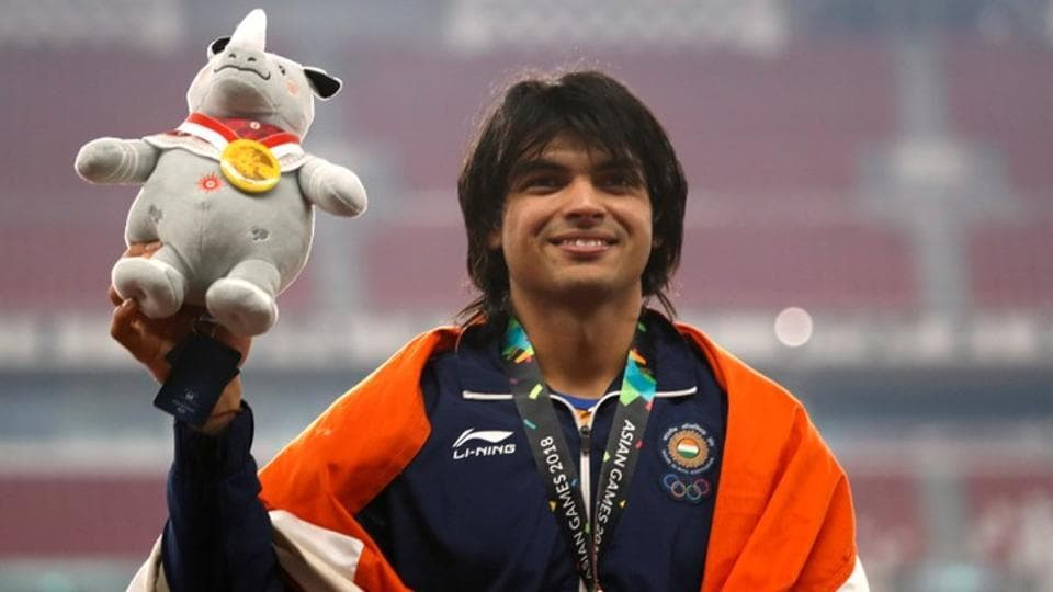 Asian Games 2018,Neeraj Chopra,Asian games