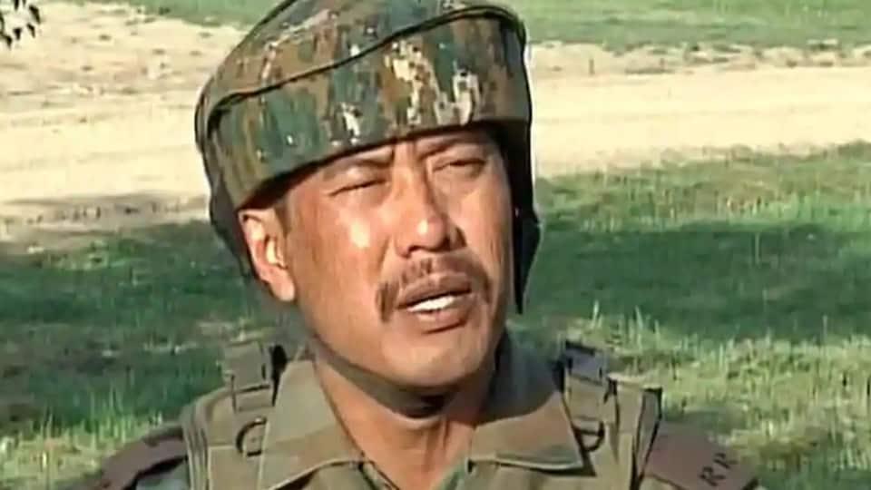 Major Leetul Gogoi,Indian Army,Srinagar