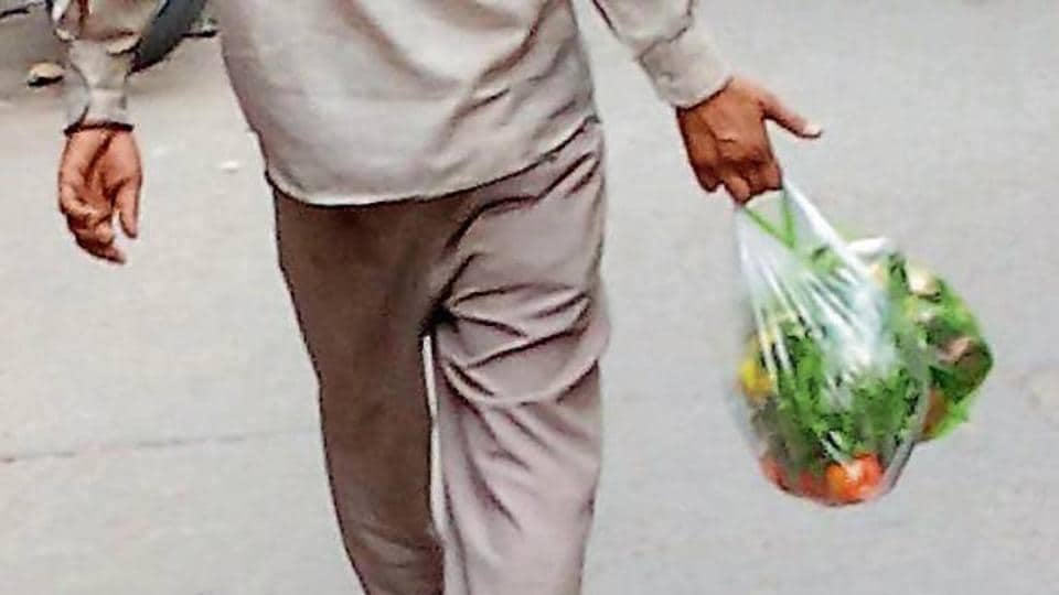 Patiala,Royal City.,plastic bags