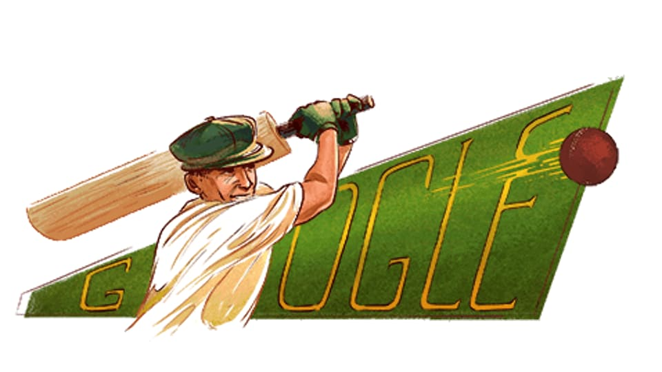 Sir Donald Bradman Honoured By Google Doodle On 110th Birth