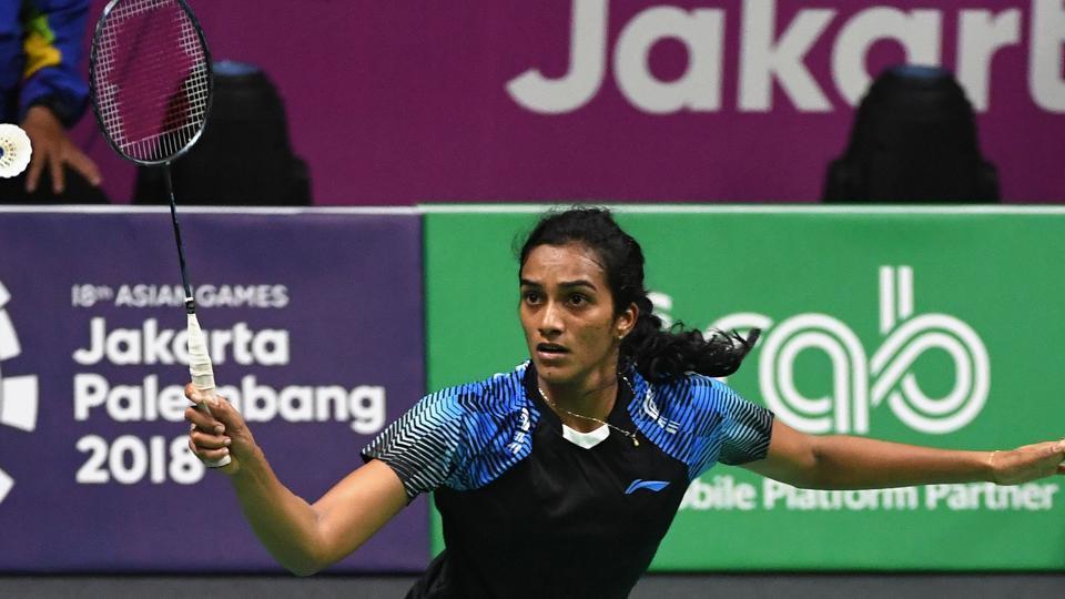 Asian Games 2018,Asian games,PV Sindhu