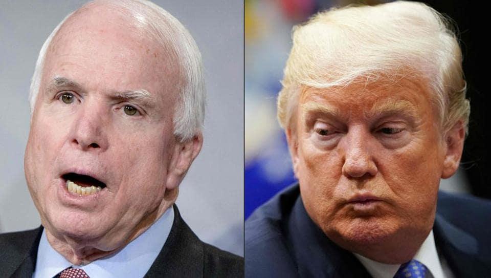 Donald Trump,John McCain,Mike Pence