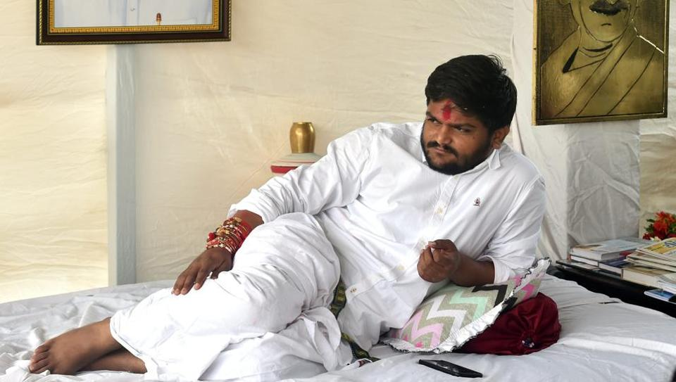 The case was registered in April last year after Vastral BJP corporator Paresh Patel complained that Hardik Patel and his supporters created ruckus outside his house and burnt a BJP flag.