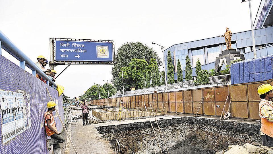 Pune,Maha-Metro,BRTS lane