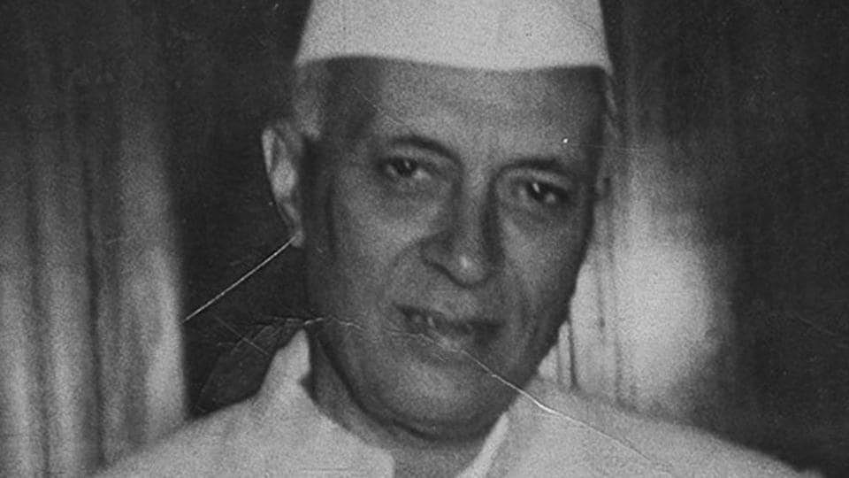 Jawaharlal Nehru, freedom movement icon and India's first prime minister.