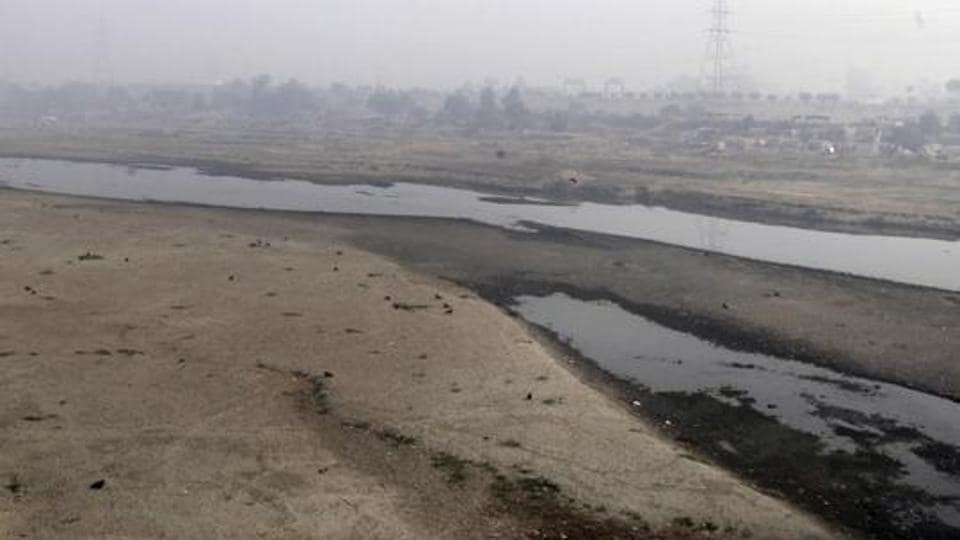 Very little water flows in the Ravi River in Lahore, Pakistan. Pakistan will reiterate its serious objections over two water storage and hydropower projects being built by India during a meet with New Delhi this week in Lahore.