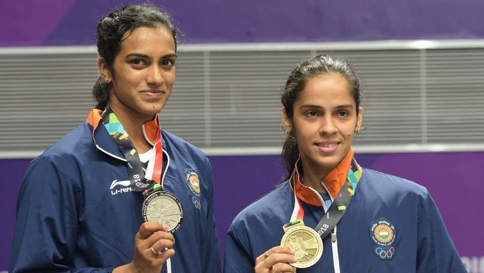 PV Sindhu created history by becoming the first Indian to win a singles silver medal in badminton while Saina Nehwal clinched bronze at the Asian Games 2018. The Indian women's archery team won the silver medal in the compound event, narrowly losing out to South Korea. The men's compound team also lost to South Korea narrowly and got the silver medal. The Indian men's table tennis team also got a bronze medal. (Vijay Verma / PTI)