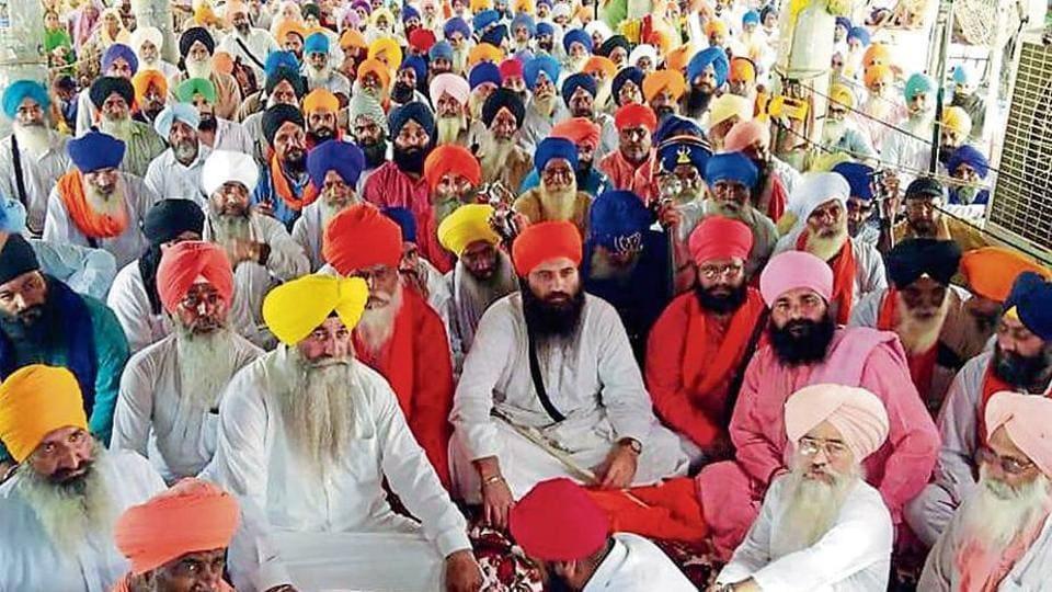 Bargari protest,Sikh,Sikh preacher