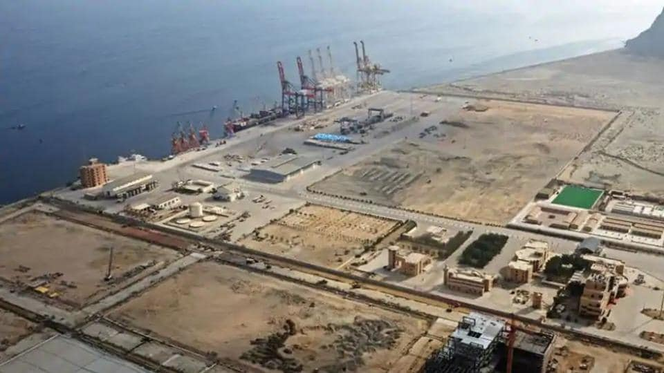 CPEC aims to connect Xinjiang in China with Pakistan's Gwadar port in Balochistan (pictured), allowing Beijing access to the Arabian Sea.